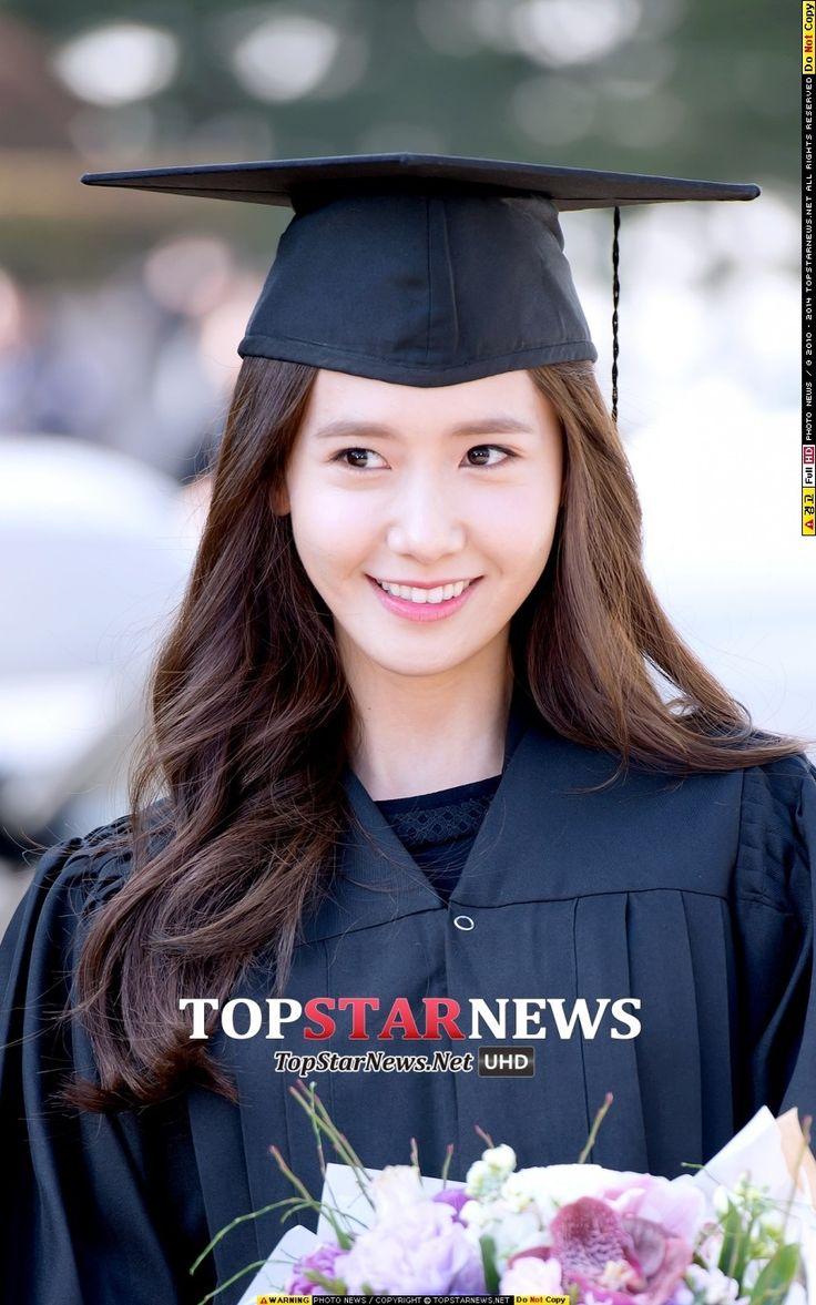 윤아(임윤아, Yoona) - [HD포토] 소녀시대(SNSD) 윤아, '학사모 써도 여전한 여신미모' (동국대학위수여식) - HD Photo News - TopStarNews.Net