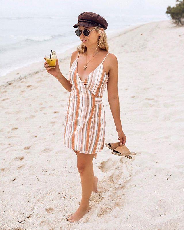 ISLAND BEACH BABE@johombsch wears our cute AS Maple Mini Dress☼ Shop her dress online now! #PollyGalpollygal #PrincessPolly