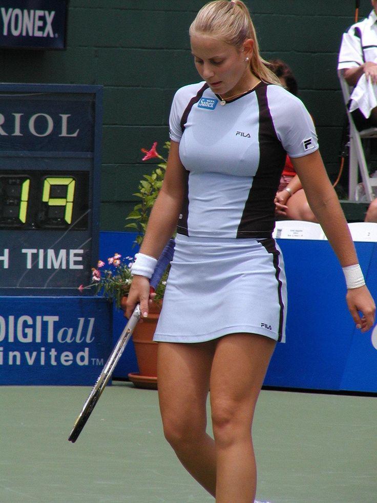 Braless Girls And Pokies  Tennis In 2019  Tennis -4855