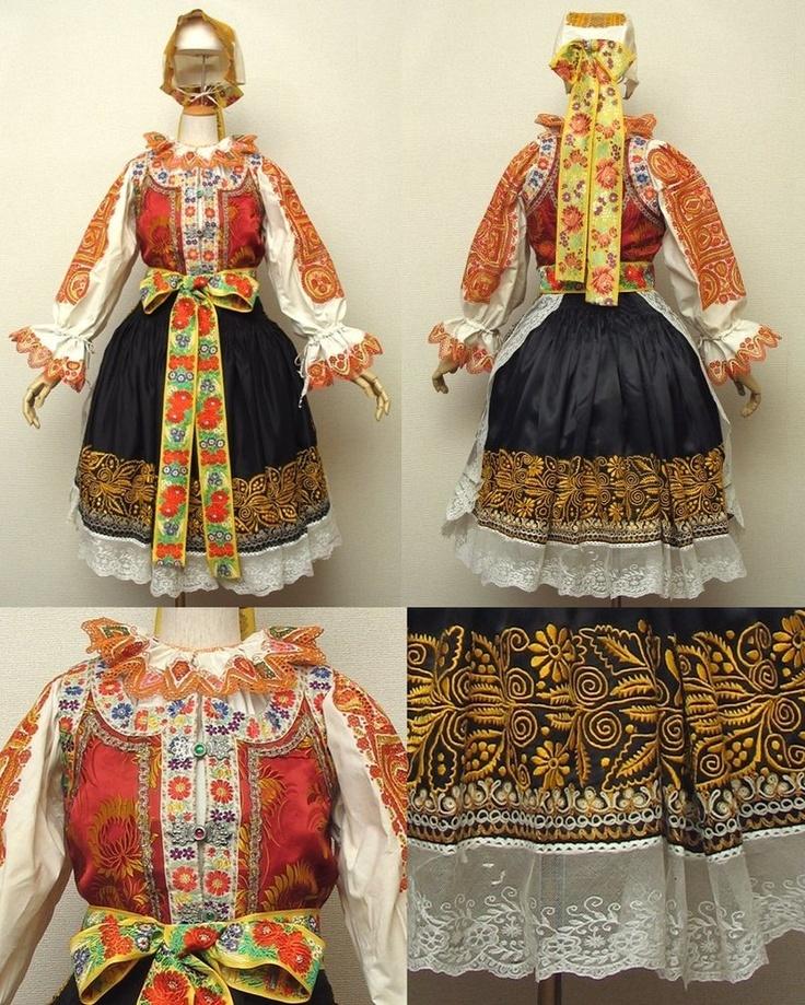 Piestany Folk Costume, Slovakia