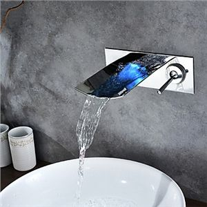 Chrome Finish Color Changing LED Waterfall Wall Mount Bathroom Sink Faucet - See more at: http://www.homelava.com/en-chrome-finish-color-changing-led-waterfall-wall-mount-bathroom-sink-faucet-nbsp-p5540.htm#sthash.f5IWaDLl.dpuf