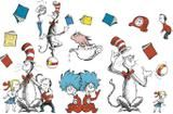 """Checkout the """"Bulletin Board Set Cat In The Hat Large Characters"""" product"""