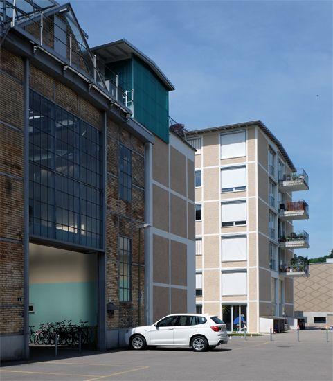 archipicture.ch ~ Knapkiewicz Fickert - Residential Development Lokomotive