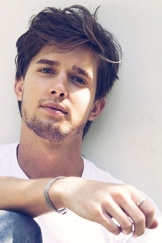 Drew Van Acker. Pretty....and great hair!