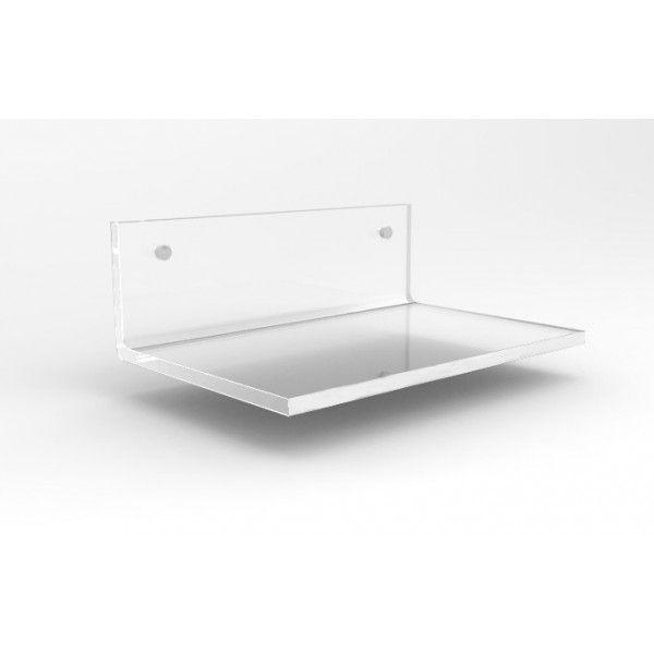 Mensola In Plexiglass Trasparente 15x10 Mensole Doccia Mensole
