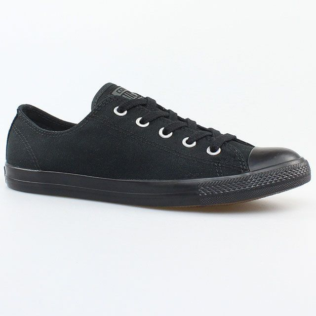 Converse Chucks All Star Dainty OX 532354C Schuhe Sneaker Damen Schwarz