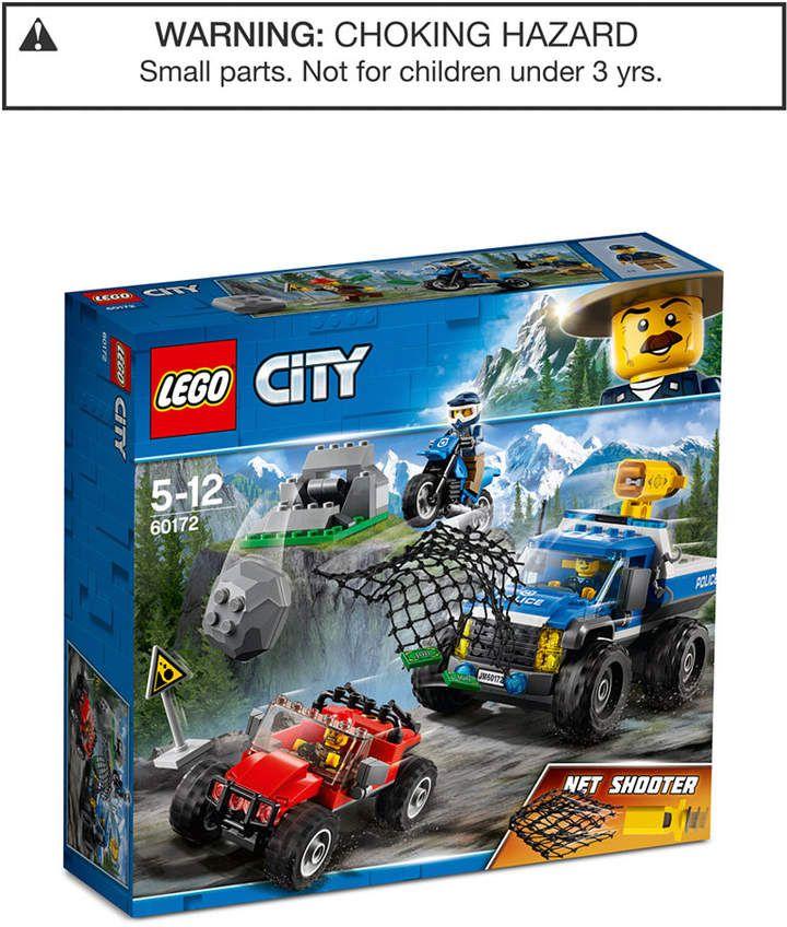 Lego City Dirt Road Pursuit 60172 Lego City Police Lego City Lego City Cargo Train