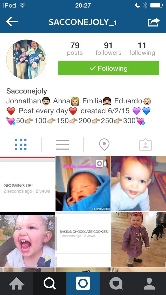 Got Instagram??? Well if u love/like Sacconejoly I'm SURE u will love this account... They post daily and sometimes even more I love this account and looks like a lot of work put in to it plz go and follow and tag Anna Saccone and Jonathan Joly in it I know we can help this account go big comment once followed xxxx