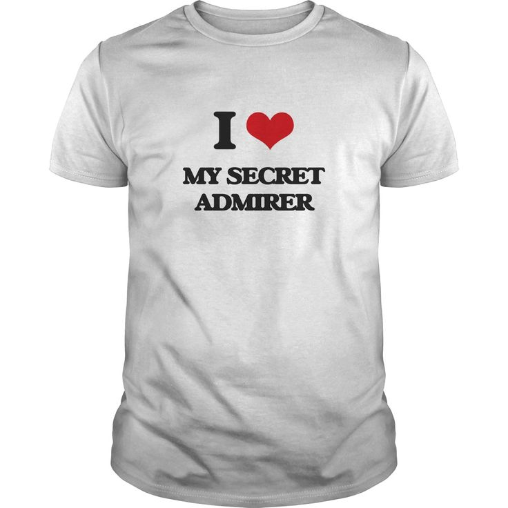 I Love My Secret Admirer - Know someone who loves My Secret Admirer? Then this is the perfect gift for that person. Thank you for visiting my page. Please share with others who would enjoy this shirt. (Related terms: I love My Secret Admirer,secret admirer,secret admirer 1985,secret admirer ...)