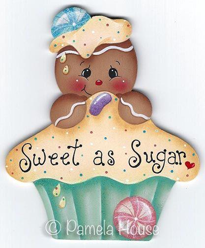 Sweet as Sugar Ginger Pattern