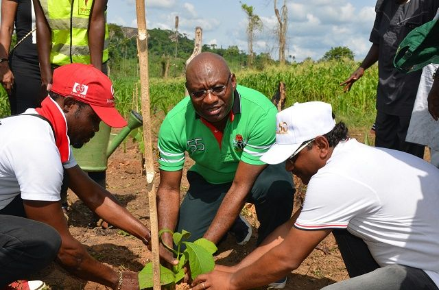 HERITAGE BANK SUPPORTS TRITON GROUP REFORESTATION PROJECT IN OYO STATE