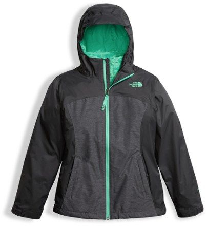 The North Face Girl's Osolita Triclimate 3-in-1 Jacket Graphite Grey XL (18 - 20)