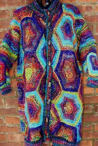 Ravelry: Hexagon Duster pattern by Patti Subik