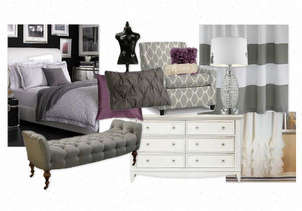 Grey Amp Plum Bedroom Diy Ideas Pinterest Plum Bedroom