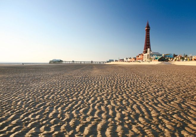 "A family holiday to the UK doesn't always scream ""beach!"" but Blackpool just may…"