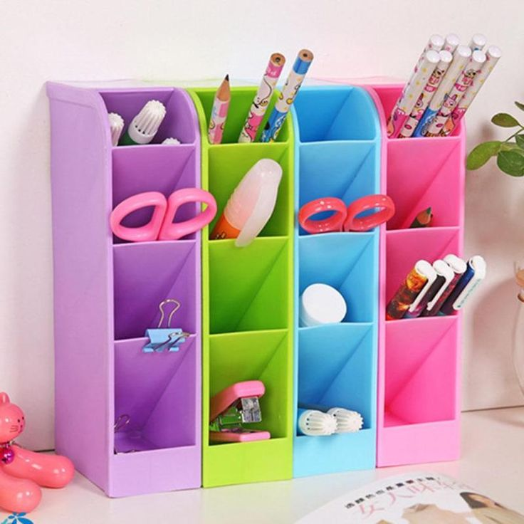 Fashion Simple Colorful Storage Box Women makeup Jewelry Organizer boxes Multifunction Desktop Debris grids Cabinet  3 #Affiliate