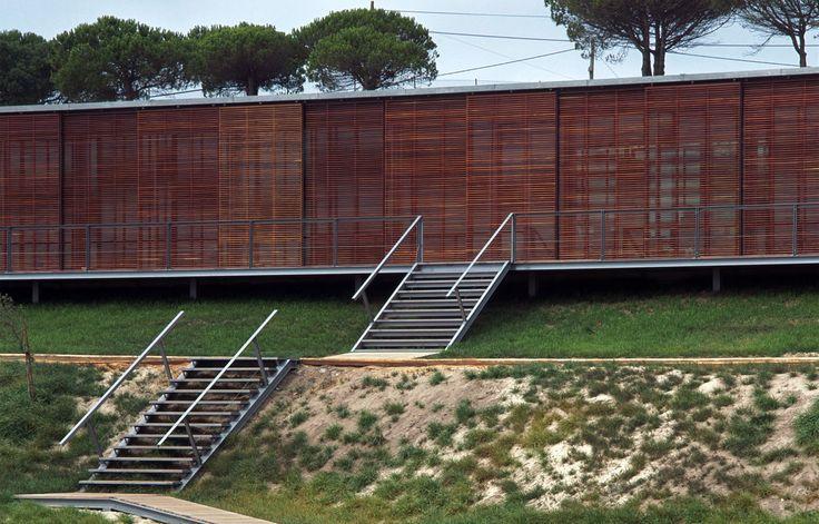Centro Interpretativo e de Acolhimento da Estação Arqueológica de Miróbriga - Paula Santos - Arquitectura