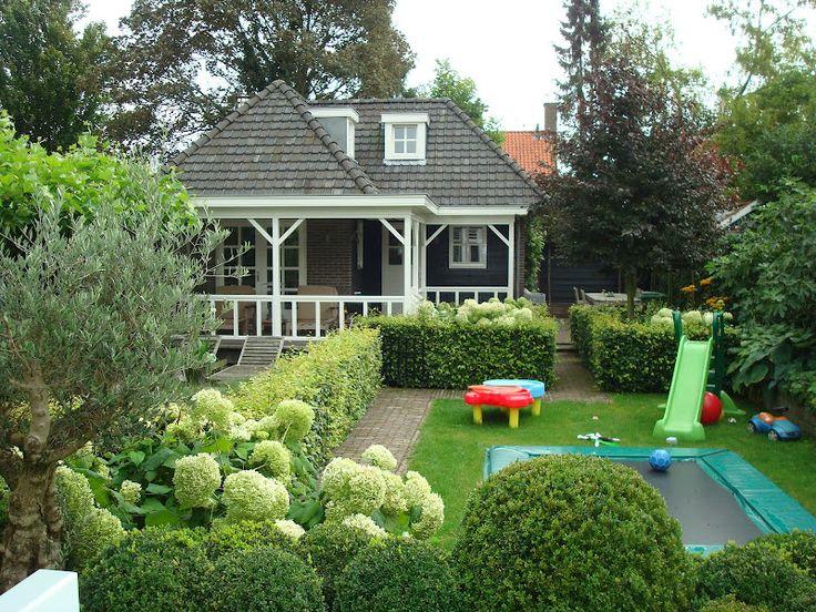 Wederom komt de vakindeling hier goed zichtbaar terug. Daarnaast is er rekening gehouden met de kindvriendelijkheid van de tuin.