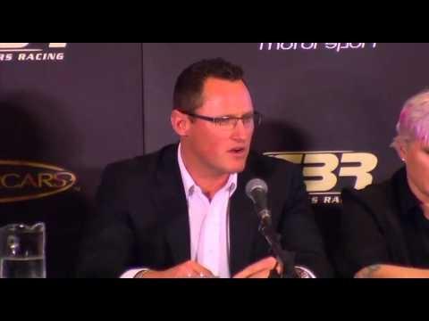 V8 Supercars coverage of the SBR / Erebus Announcement