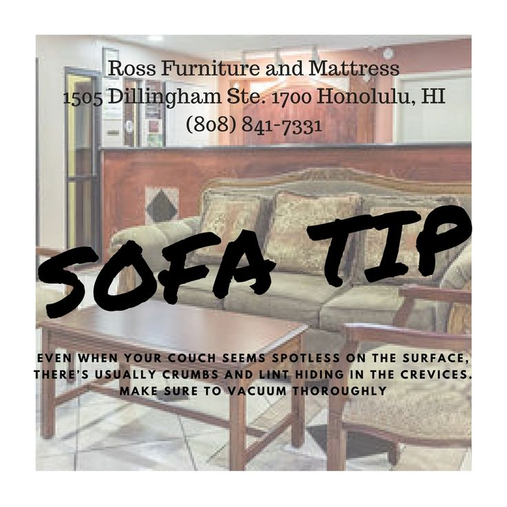 How To Keep Your New Sofa Looking Fresh Honolulu Sofacare Furniture Livingroom