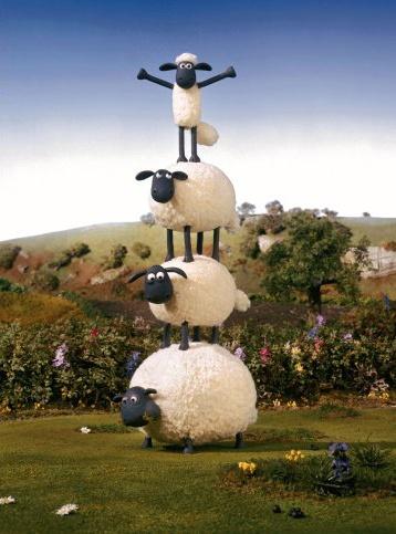 Shaun the Sheep. Shaun das Schaf. Ich lach mich schlapp!