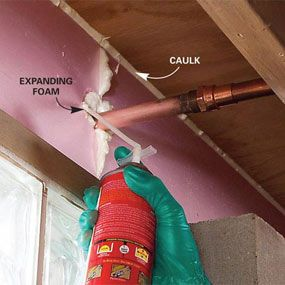 Cut Heat Loss Through The Rim Joists And Tighten Up Your House With Rigid Foam  Insulation