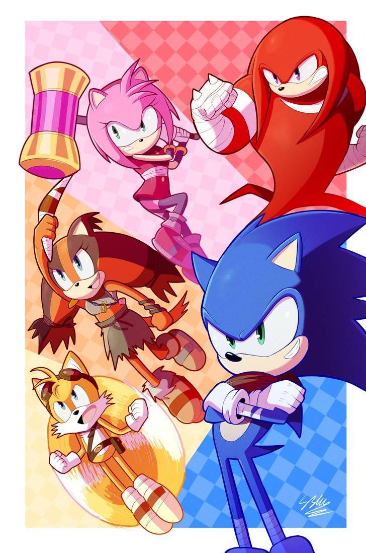 Sonic Boom Crew By Staticblu On Deviantart Sonic