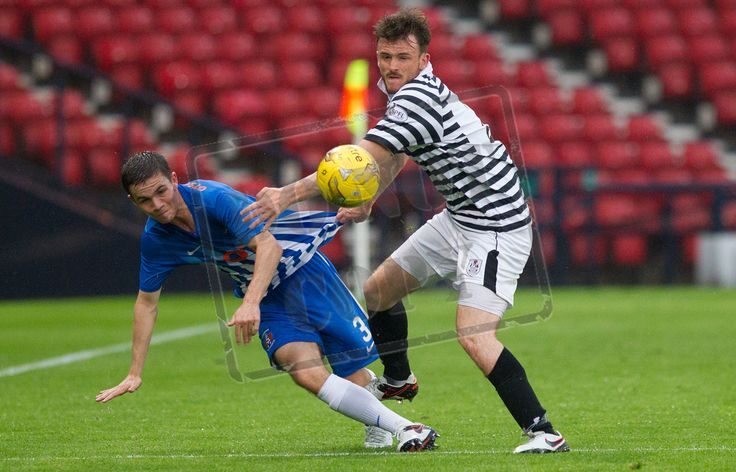 Queen's Park's Mark Williams in action during the IRN-BRU Cup game between Queen's Park and Kilmarnock Colts.