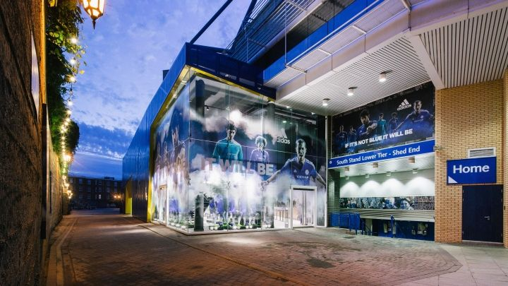 Chelsea FC Megastore by Schwitzke & Partner at Stamford Bridge Stadium, London – UK » Retail Design Blog