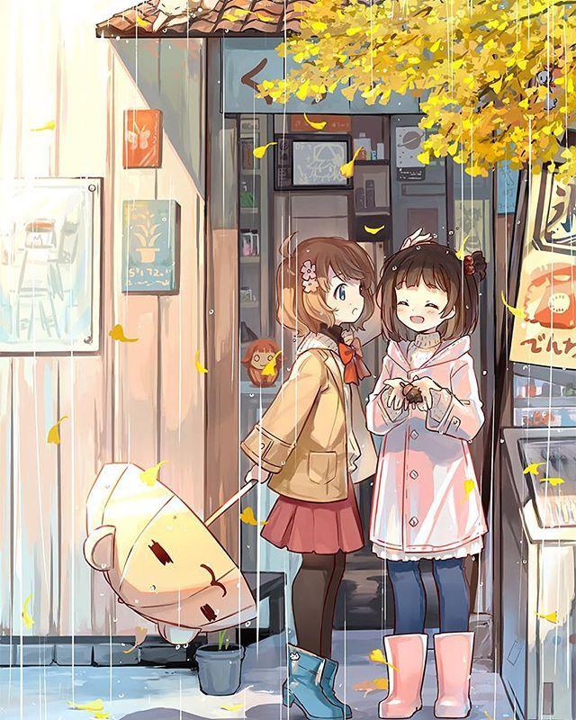 Bestfriend Anime Best Friends Friend Anime Anime