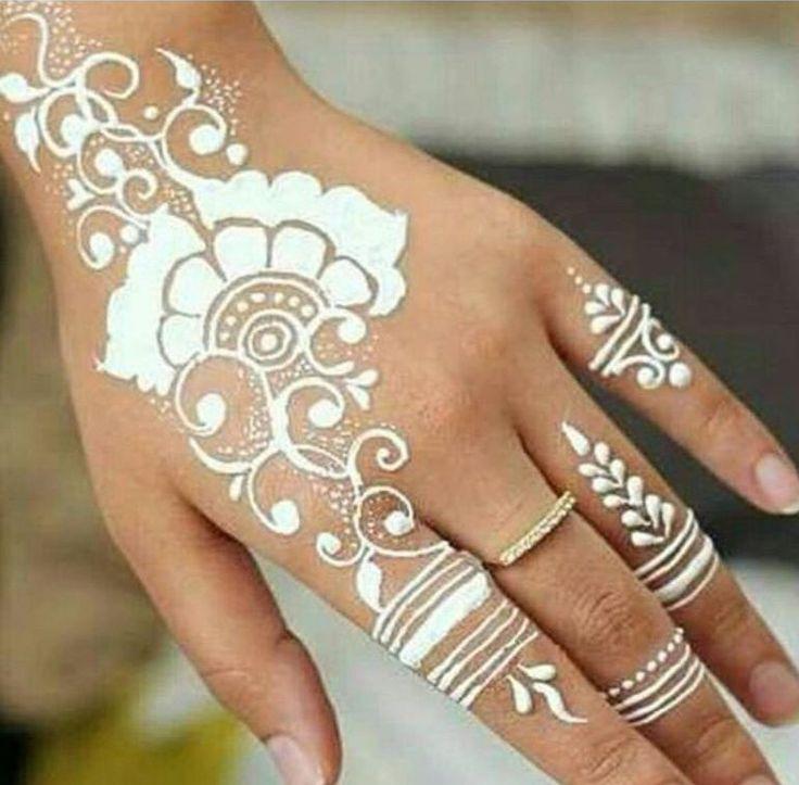 Henna Tattoo Ink: 10 Best White Tattoos Images On Pinterest