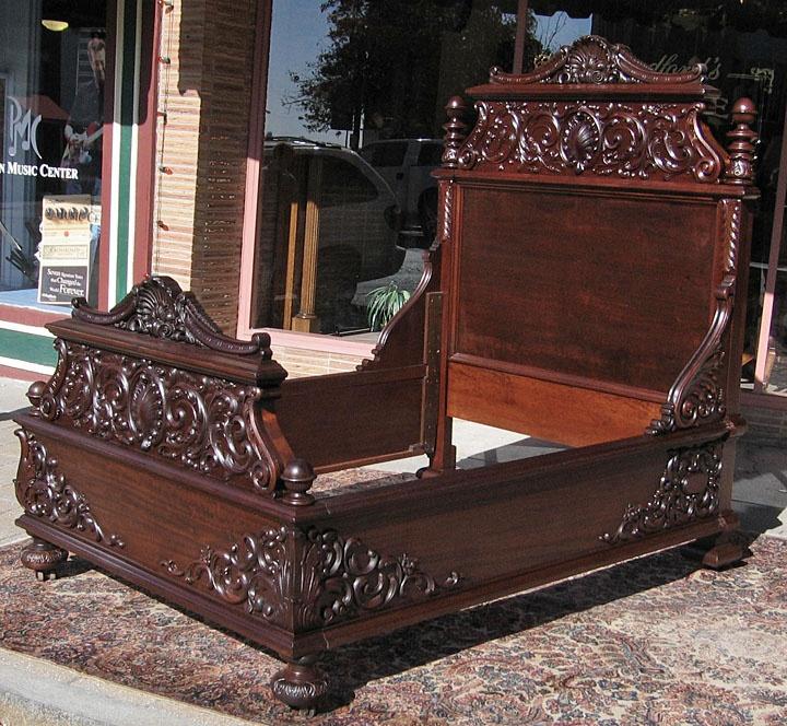 184 best Victorian Beds images on Pinterest Antique furniture