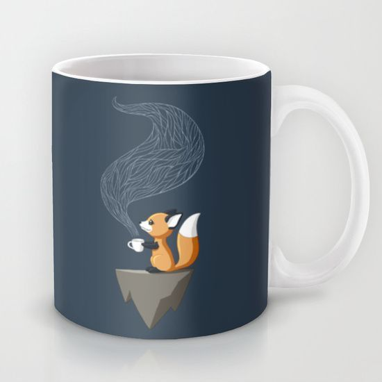 So cute! :: Fox Tea Mug