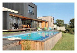 1000 ideas about piscine bois rectangulaire on pinterest. Black Bedroom Furniture Sets. Home Design Ideas