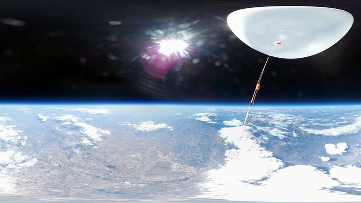 Ride a Weather Balloon Into (Near) Space  ||  Take a trip into the stratosphere on one of NOAA's weather balloons. It rises 21 miles into the sky collecting data before bursting and falling back to Earth. https://www.nytimes.com/video/science/100000005433524/noaa-ozone-balloon.html?emc=rss&partner=rss&utm_campaign=crowdfire&utm_content=crowdfire&utm_medium=social&utm_source=pinterest