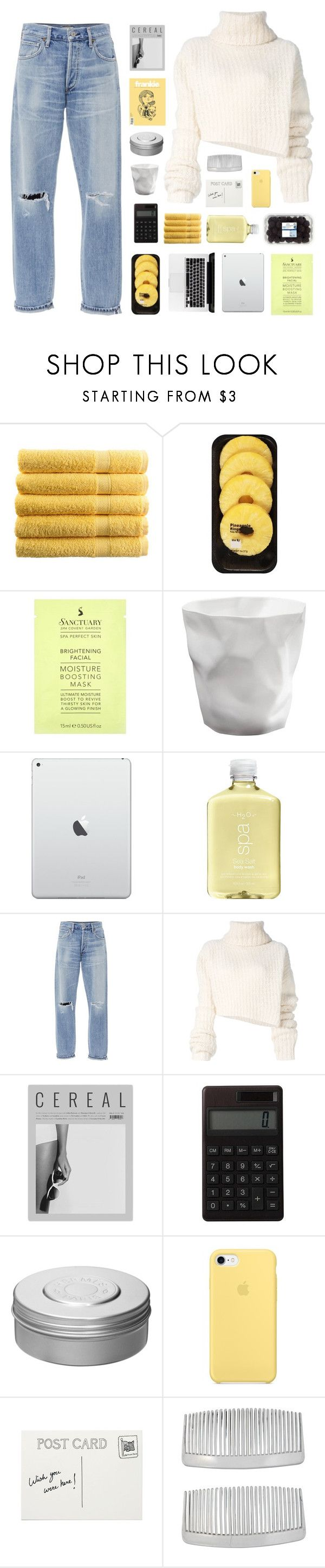 """""""oh, I must be seeing blind ☆"""" by golden-rod ❤ liked on Polyvore featuring Lindt, H2O+, Citizens of Humanity, Ann Demeulemeester, Muji, Hermès and John Lewis"""