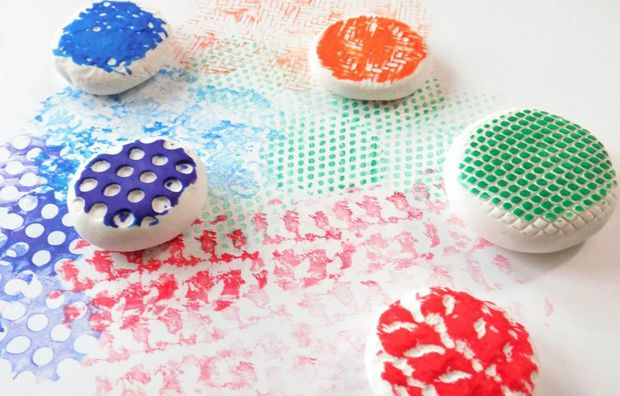 Turn your favorite texture into a stamp.