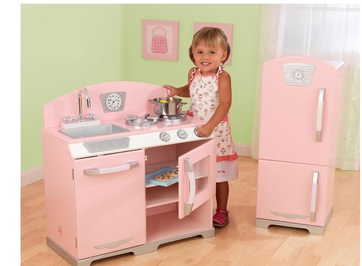 Vintage kök i rosa - Bonti