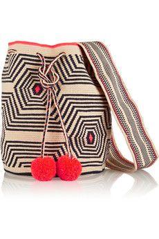 Sophie Anderson Lilla crocheted cotton shoulder bag   NET-A-PORTER