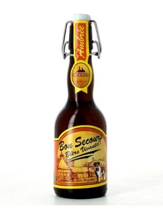 Bon Secours Ambrée - Brouwerij Caulier