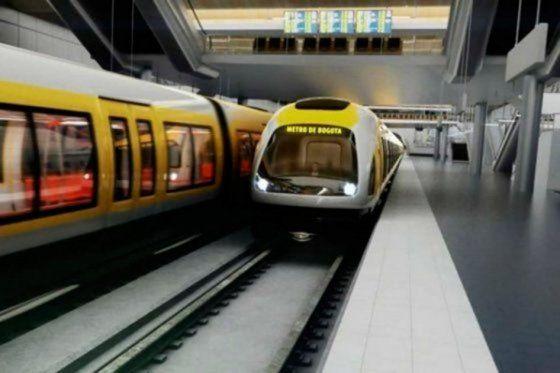 Metro para Bogotá sí se construirá: Santos