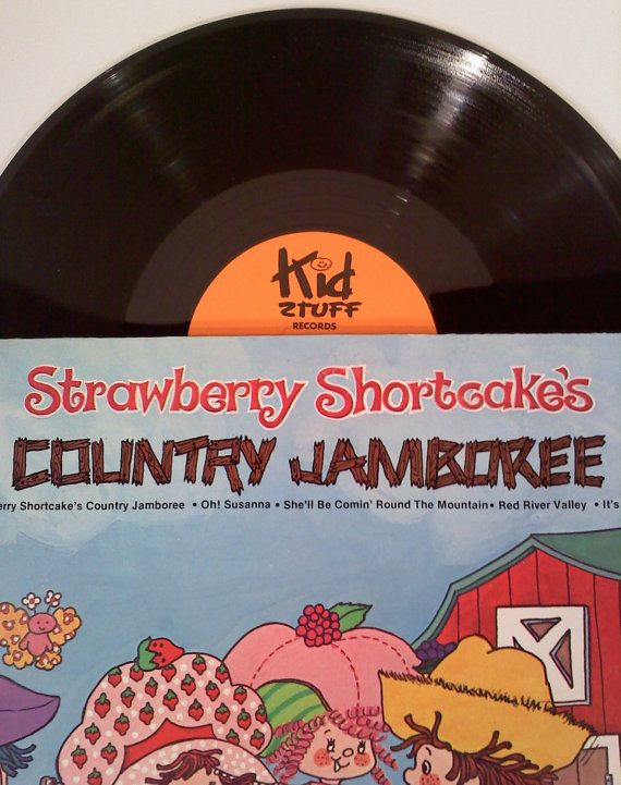 Vintage Strawberry Shortcake LP Country by SweetgyrlDesigns, $6.00