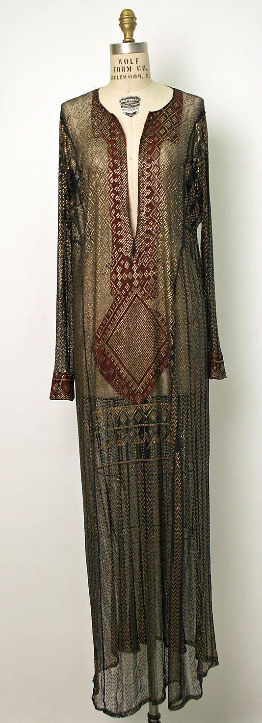 Dress-19th century, Egyptian