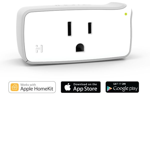 iHome Control Smart Plug, featuring Apple HomeKit and Android Compatibility (ISP5WC) - - Amazon.com  My first Apple HomeKit devices!  That I can control via Siri too