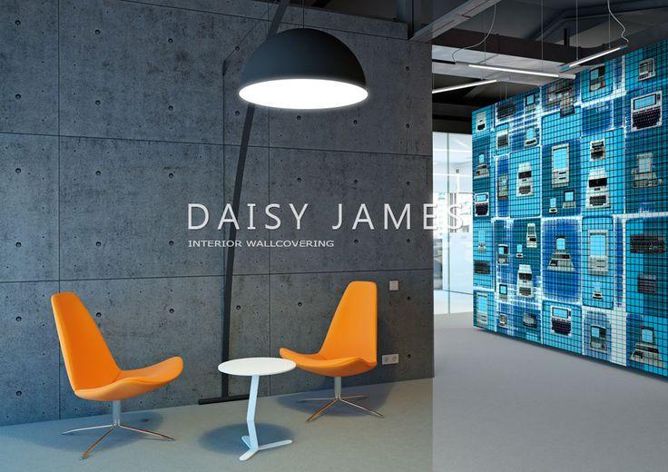 DAISY JAMES wallcover IBM