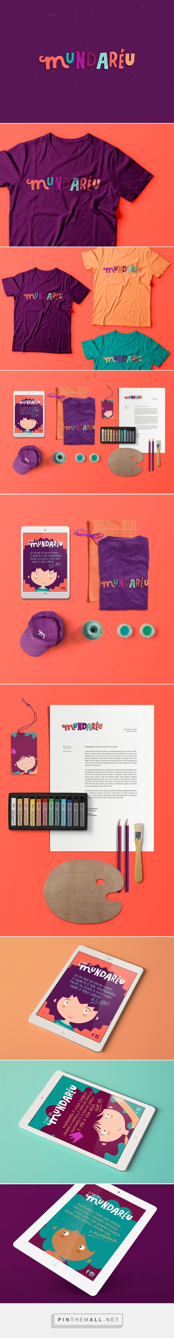 Mundaréu Identity by Carmelita Design on Behance   Fivestar Branding – Design and Branding Agency & Inspiration Gallery