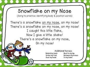 Winter Circle Time Unit | January | Kindergarten songs ...