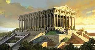 Il tempio di Artemide ad Efeso in Turchia