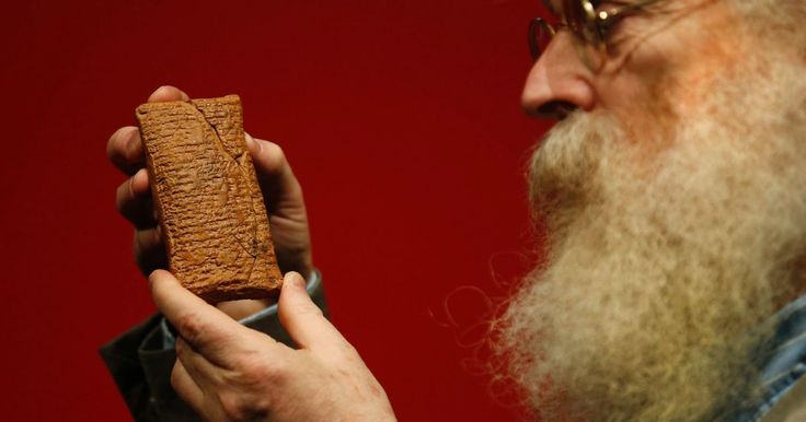 The Mesopotamian tablet, consisting of sixty lines in cuneiform, has gone on display at the British Museum in London. 4,000-year-old Tablet Describes Noah's Ark - as Round  read more: