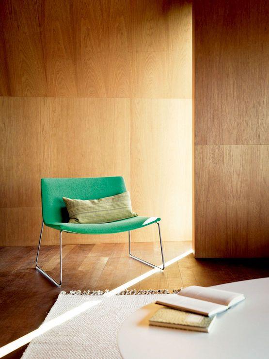 Catifa 80 Lounge Sled | Stylecraft | Lounge Chair